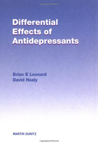9781853176579: Differential Effects of Antidepressants