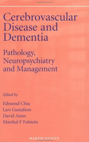 9781853177590: Cerebrovascular Disease and Dementia: Pathology, Neuropsychiatry and Management