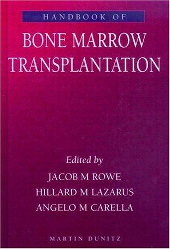 9781853178894: Handbook of Bone Marrow Transplantation