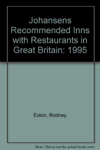 9781853248481: Johansens Recommended Inns With Restaurants in Great Britain 1995/Book 2