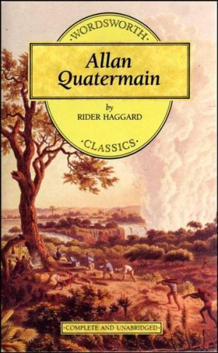 Allan Quatermain by H Rider Haggard 1994 Paperback