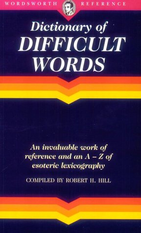 9781853263088: Dictionary of Difficult Words (Wordsworth Reference)