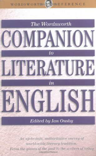 9781853263361: The Wordsworth Companion to Literature in English