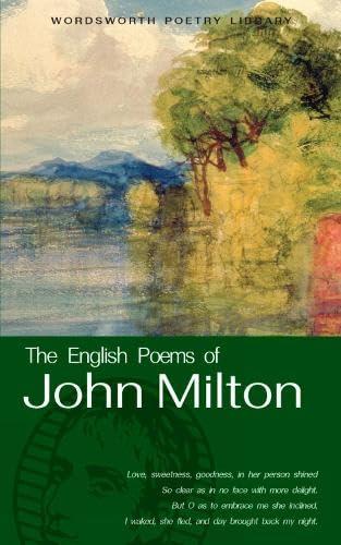9781853264108: The English Poems of Milton (Wordsworth Poetry)