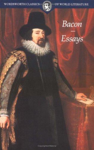 Essays (Classics of World Literature): Bacon, Francis