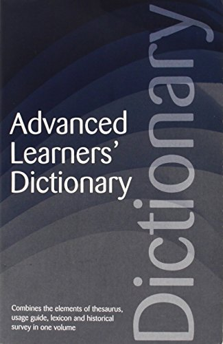 Advanced Learners' Dictionary (Wordsworth Reference): Manser, Turton
