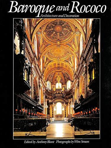 9781853269066: Baroque and Rococo: Architecture and Decoration
