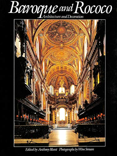 9781853269066: Baroque and Rococo: Architecture and Decoration