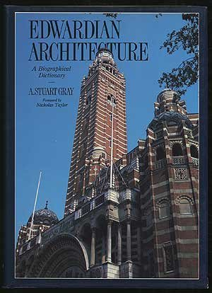 9781853269080: Edwardian Architecture: A Biographical Dictionary