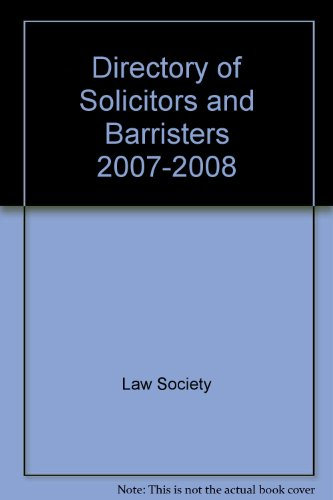 Directory of Solicitors and Barristers: Law Society