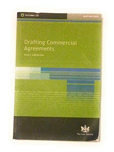 9781853286049: Drafting Commercial Agreements
