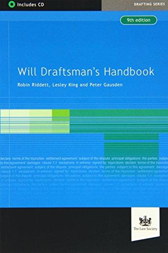 Will Draftsman's Handbook (Book & CD Rom): Paul Gausden; Lesley King; Robin Riddett