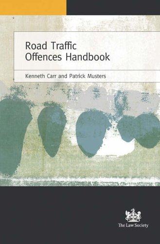 9781853289187: Road Traffic Offences Handbook