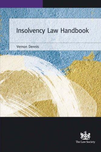 9781853289712: Insolvency Law Handbook