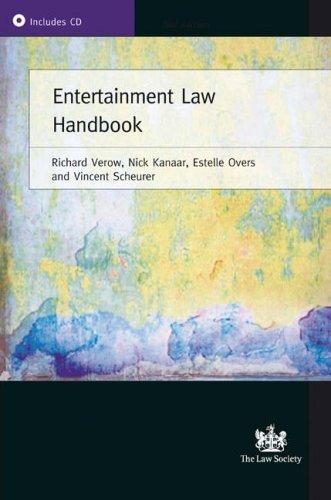 9781853289774: Entertainment Law Handbook