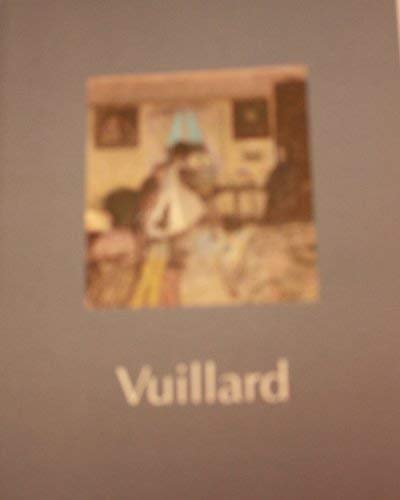 9781853320767: Vuillard: A national touring exhibition from the South Bank Centre