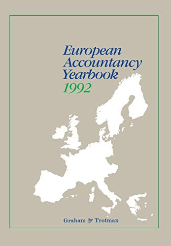 European Accountancy Yearbook 1992/93: Rocco, Ellen [Editor]
