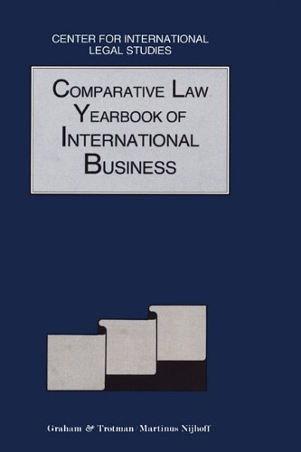 9781853337178: Comparative Law Yearbook of International Business 1992 (Comparative Law Yearbook Series Set)