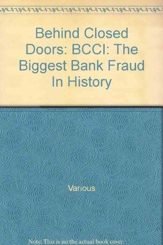 Behind Closed Doors. BCCI : The Biggest: Lascelles, David et