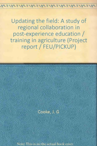 Updating the Field: Cooke, John G.