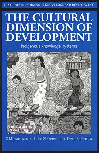 9781853392511: The Cultural Dimension of Development