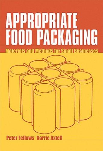 9781853395628: Appropriate Food Packaging