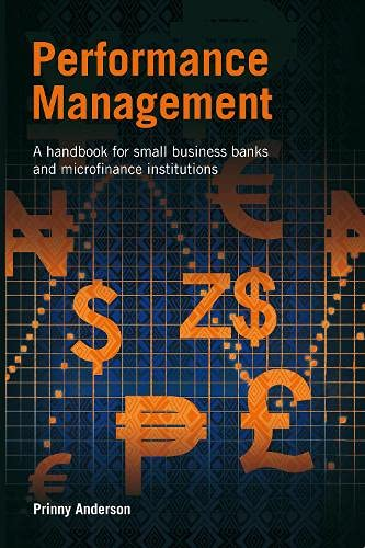 9781853397936: Performance Management: A Handbook for Small Business Banks and Microfinance Institutions