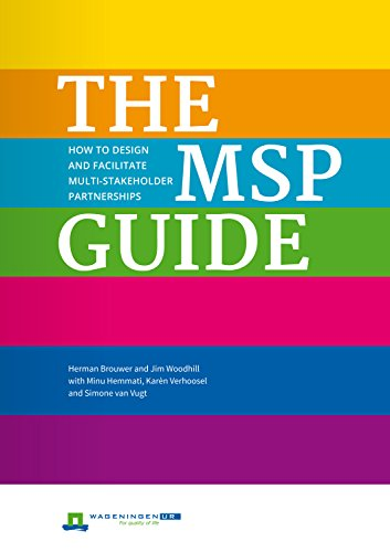 9781853399657: The MSP Guide: How to Design and Facilitate Multi-Stakeholder Partnerships