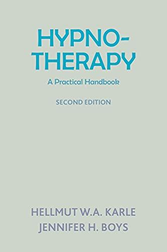 9781853432071: Hynotherapy: A Practical Handbook: A Practical Handbook (Second Edition)
