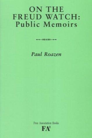 9781853435683: On the Freud Watch: Public Memoirs