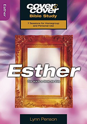 9781853455117: Esther: For Such a Time as This (Cover to Cover Bible Study)