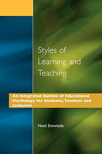 9781853461040: Styles of Learning and Teaching: An Integrated Outline of Educational Psychology for Students, Teachers and Lecturers (Wiley Series in Agrochemicals & Plant Protection)