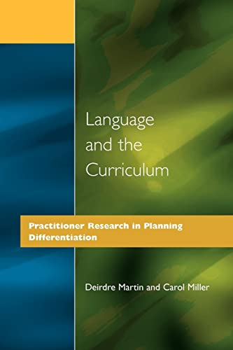 Language and the Curriculum: Practitioner Research in Planning Differentiation: Carol Miller
