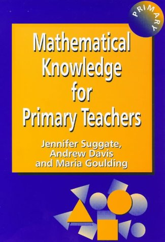 9781853465598: Math Knowledge for Prim Teach