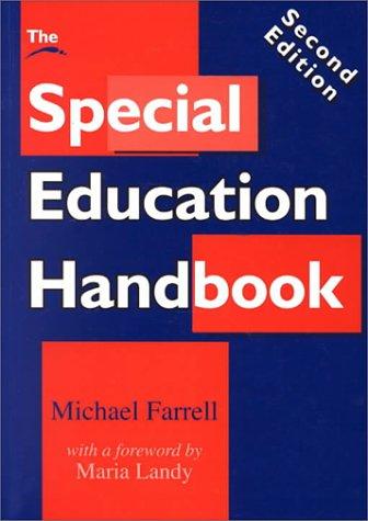 9781853465802: Special Education Handbook Pb