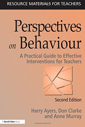 9781853466724: Perspectives on Behaviour: A Practical Guide to Effective Interventions for Teachers (Resource Materials for Teachers)