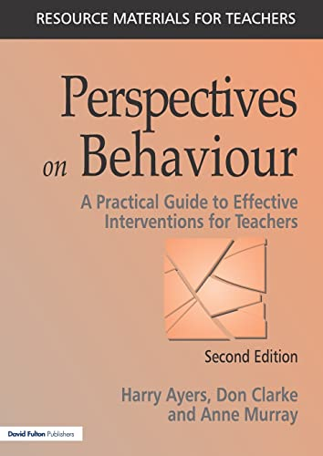 9781853466724: Perspectives on Behavior