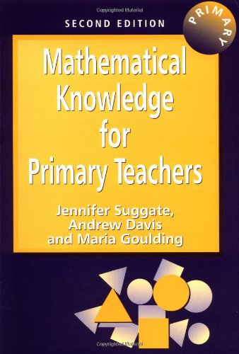 9781853467509: Mathematical Knowledge for Primary Teachers