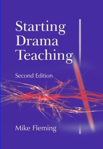 9781853467882: Starting Drama Teaching