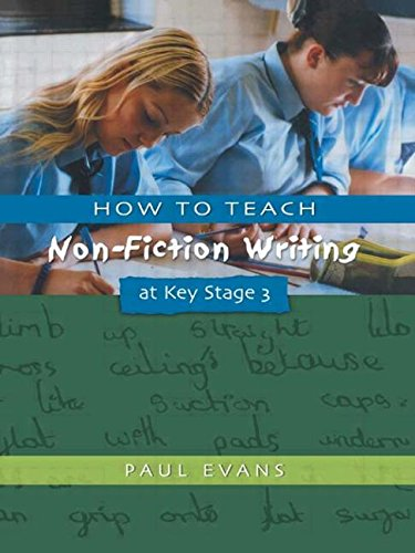 9781853468599: How to Teach Non-Fiction Writing at Key Stage 3 (Writers' Workshop)