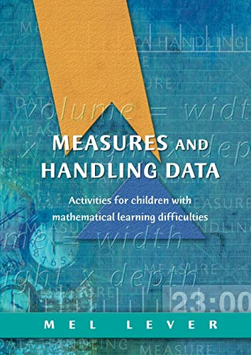 9781853469503: Measures and Handling Data: Activities for Children with Mathematical Learning Difficulties