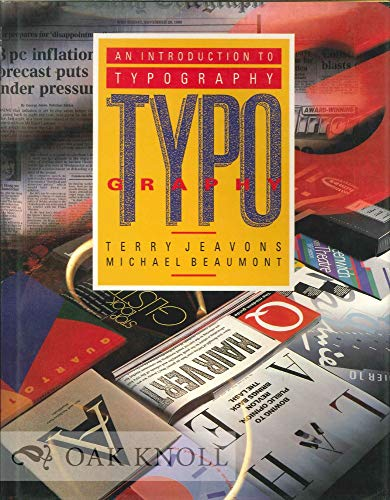 9781853482182: An Introduction to Typography