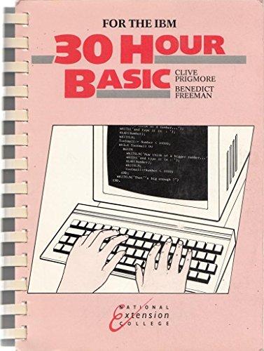 9781853560088: 30 Hour Basic: IBM Edition