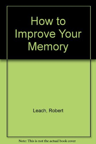 9781853564796: How to Improve Your Memory