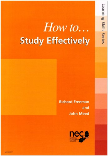9781853568169: How to Study Effectively (Learning skills)