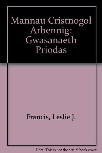 Mannau Cristnogol Arbennig: Gwasanaeth Priodas: Francis, Leslie J.,