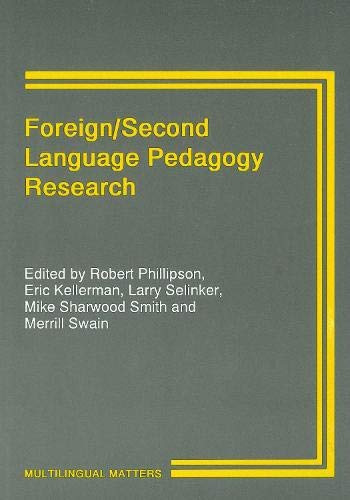 9781853590856: Foreign/Second Language Pedagogy Research: A Commemorative Volume for Clause Faerch (Multilingual Matters)