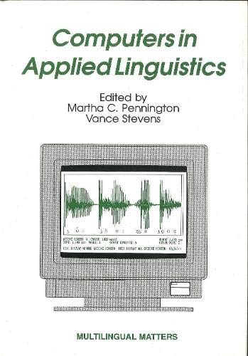 9781853591204: Computers in Applied Linguistics (Multilingual Matters)