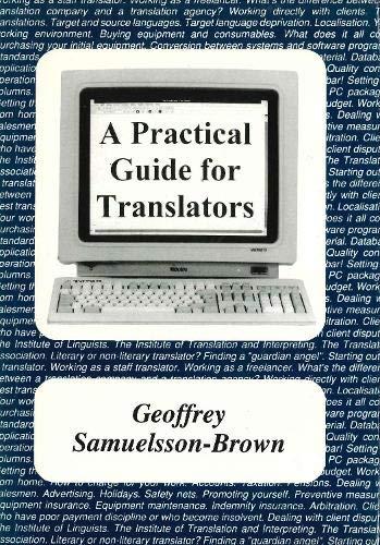 9781853591884: A Practical Guide for Translators (Topics in Translation)