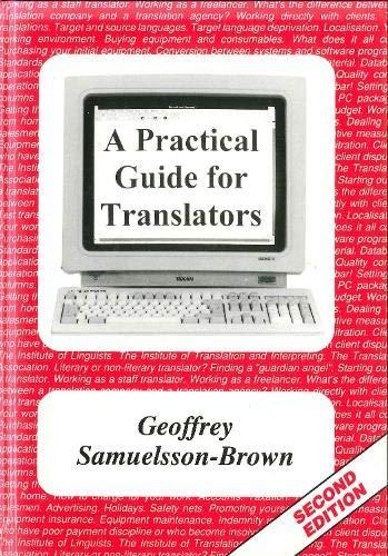 9781853593048: A Practical Guide for Translators (Topics in Translation)